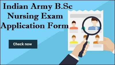 Indian Army BSc Nursing Admission 2018