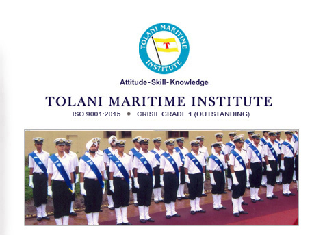 Tolani Maritime Institute Admission Open to B. Tech/ B. Sc 2018