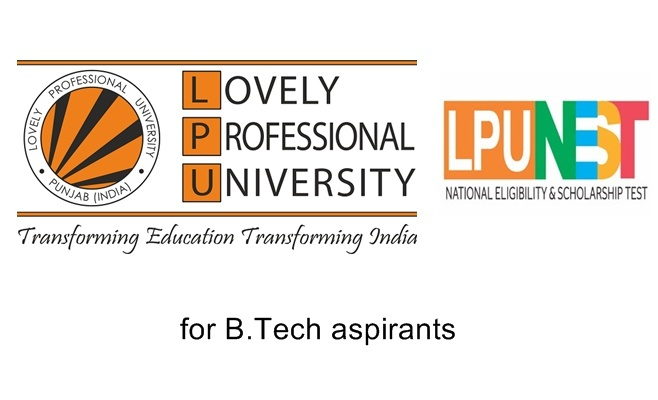 LPUNEST| Lovely Professional University| National Eligibility and Scholarship Test 2019