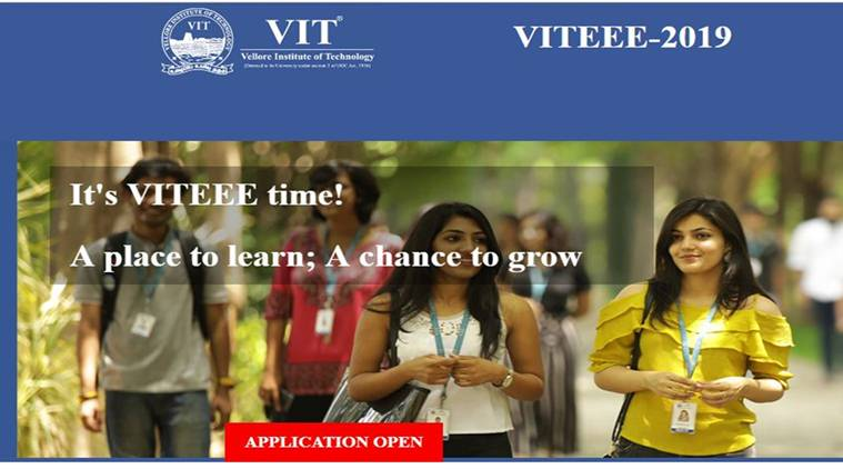 VITEEE| Vellore Institute of Technology Engineering Entrance Exam 2019