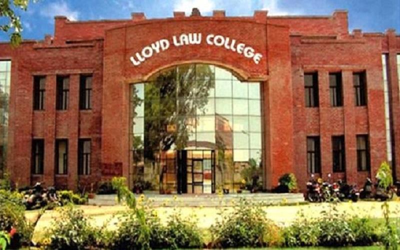 Lloyd Law College Entrance Test 2019