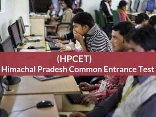 Himachal Pradesh Common Entrance Test (HPCET) 2019