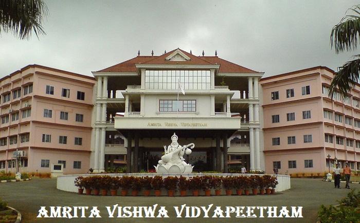 Amrita Vishwa Vidyapeetham for B.Sc Nursing 2019