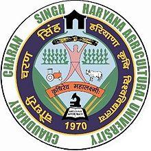 Chaudhary Charan Singh Haryana Agricultural University, Hisar   Admission 2019