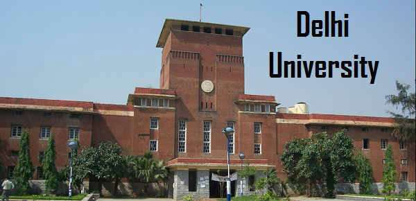 University of Delhi | Entrance based admission 2019
