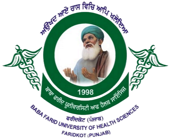 Baba Farid University of Health Sciences, Faridkot | Para medical 2019