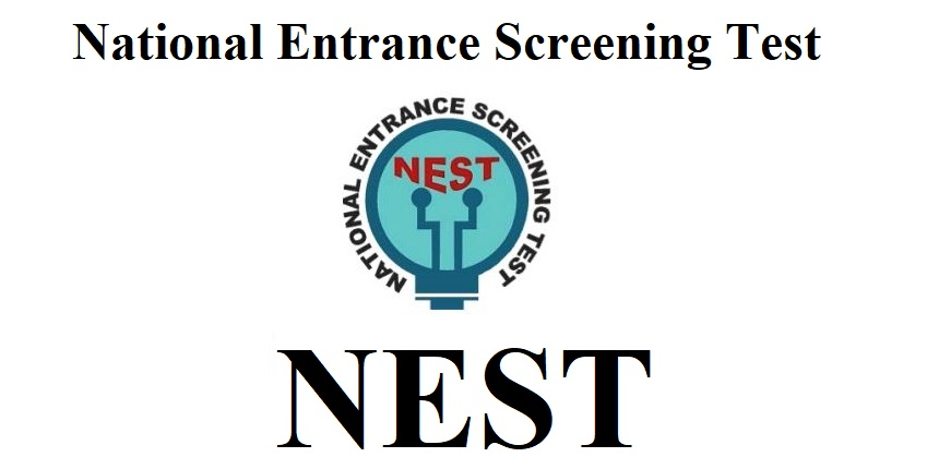 National Entrance Screening Test (NEST) 2020 Application