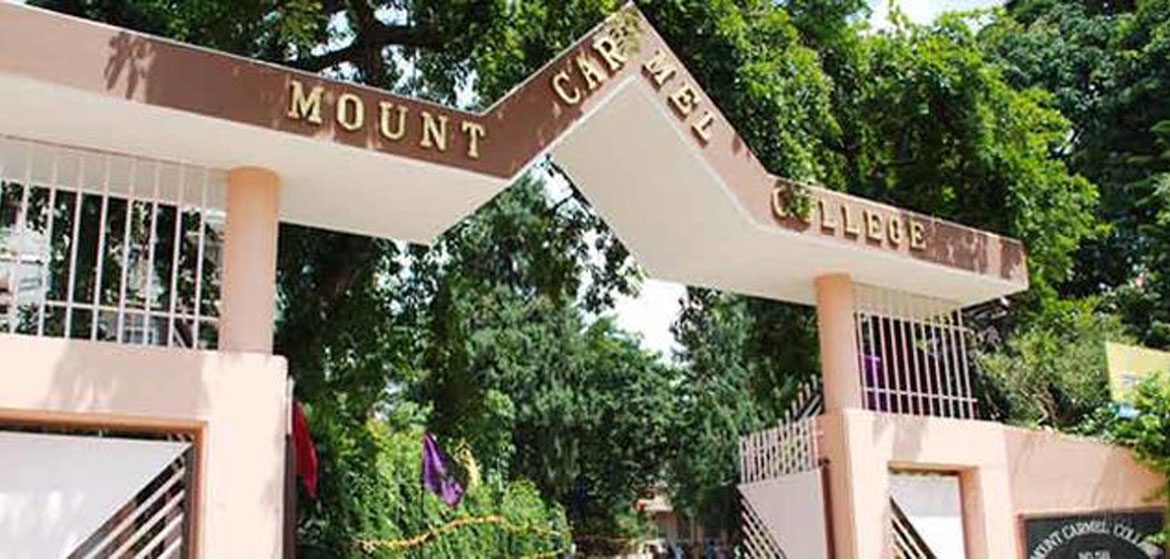 Mount Carmel College, Bangalore application 2020-21