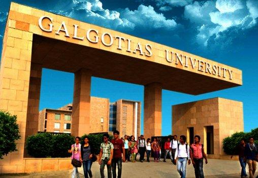 Galgotias University 2020 application