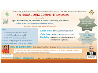 National Quiz competition 2020