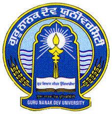 Guru Nanak Dev University, Amritsar 2020