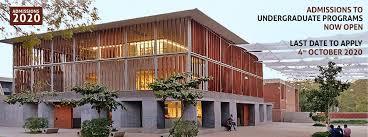 CEPT Ahmedabad,  2020