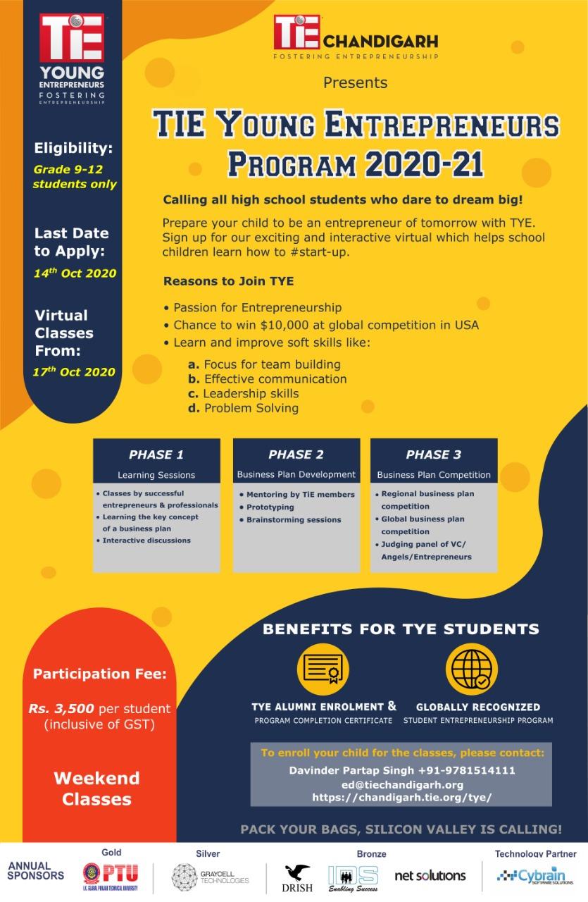 TYE 2020-21 Registration