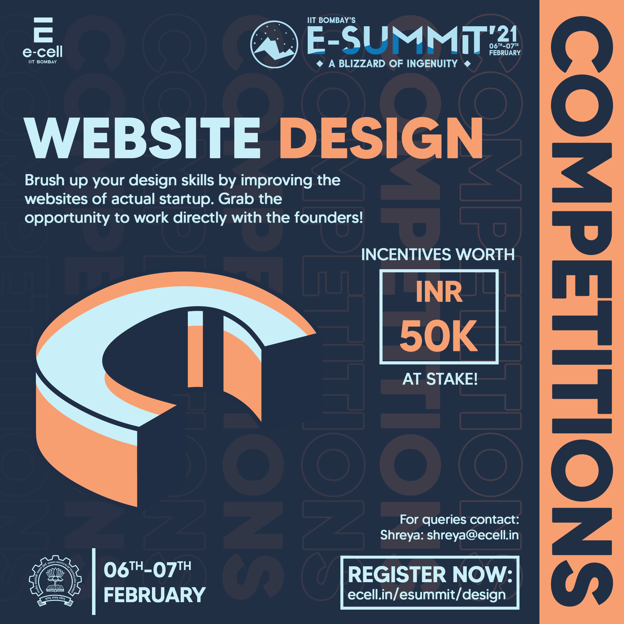 Online UI Design Competition,Indian Institute of Technology (IIT), Bombay