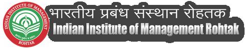 Integrated Program in Management IIM Rohtak, 2021