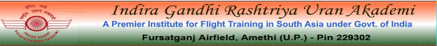 Indira Gandhi Rashtriya Uran Akademi (IGRUA) 2021