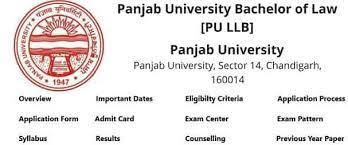 Panjab University- B.A./B.COM.LL.B. (HONS.) 2021