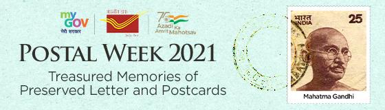Postal Week 2021 - Treasured Memories of Preserved Letter and Postcards